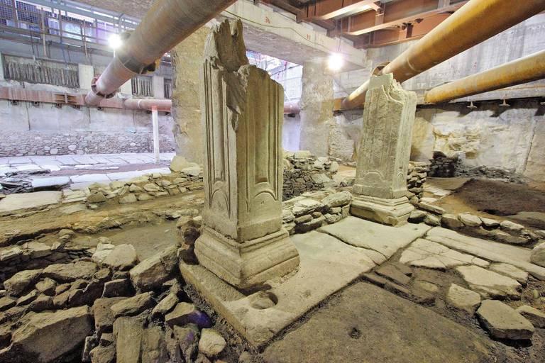 Bras de fer entre une ministre grecque et des archéologues pour sauver des vestiges byzantins exceptionnels