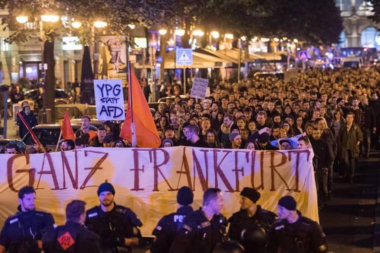 Allemagne: les manifestations contre l'extrême droite se répandent après les élections
