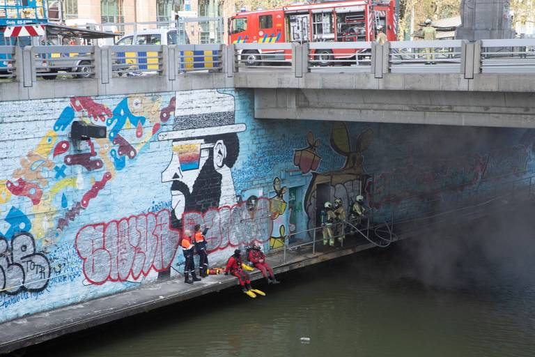 Bruxelles: le pont Sainctelette fermé jusqu'à nouvel ordre