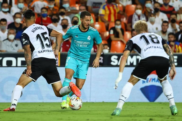 Le geste de grande classe d'Eden Hazard contre Valence (VIDEO)