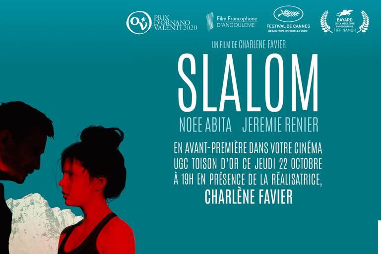 Remportez vos places pour l'avant-première du film Slalom