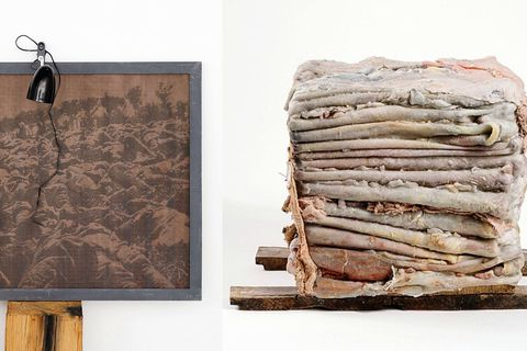 """Exposition """"Trees for memories"""" : une forêt d'espoir à la Fondation Boghossian"""