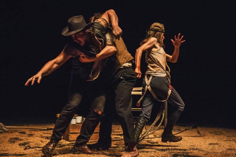 """""""Cowboy"""", western théâtral contemporain de Delphine De Baere, l'une des quatre créations de Factory 2020."""