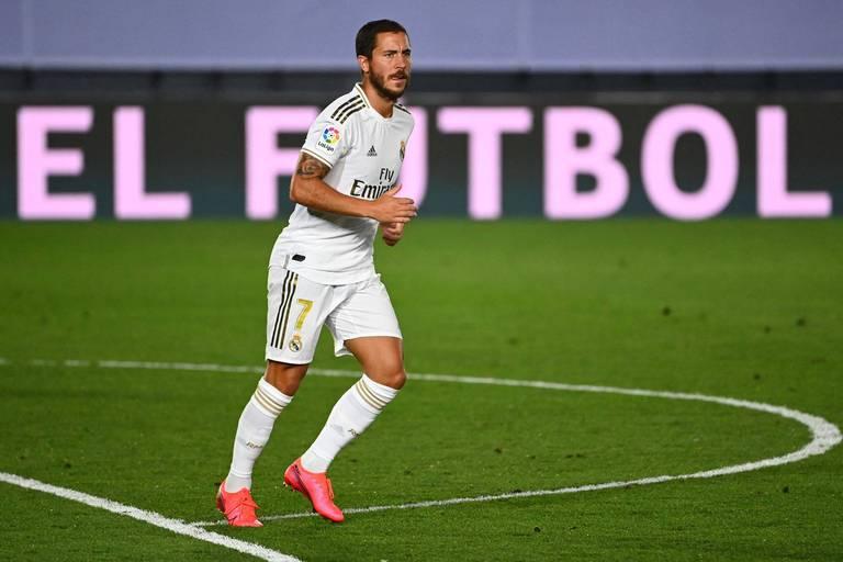 Eden Hazard pas encore à 100%: le Diable absent de l'entrainement collectif du Real Madrid