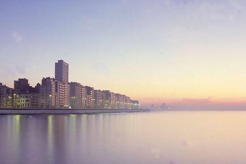La plage d'Ostende est l'une des plus belles du monde