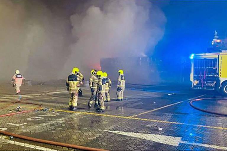 Enquête à Dubaï pour déterminer les causes d'une explosion au port