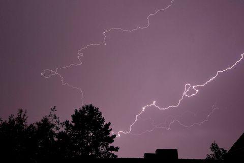L'IRM met en garde contre des averses intenses et orageuses