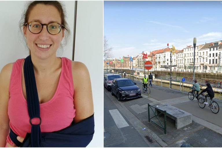 Une cycliste agressée par un piéton le long du canal à Molenbeek
