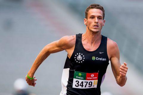 """Dylan Borlée fait sa rentrée sur 400 mètres : """"C'est en été que je veux faire mes meilleures performances"""""""