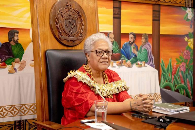 La Première ministre des Samoa tire le signal d'alarme avant la COP26