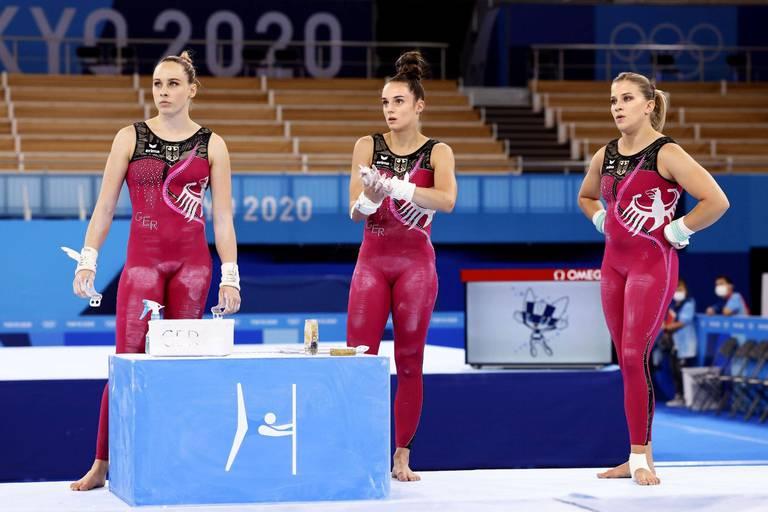 Le message fort derrière les tenues des gymnastes allemandes aux JO