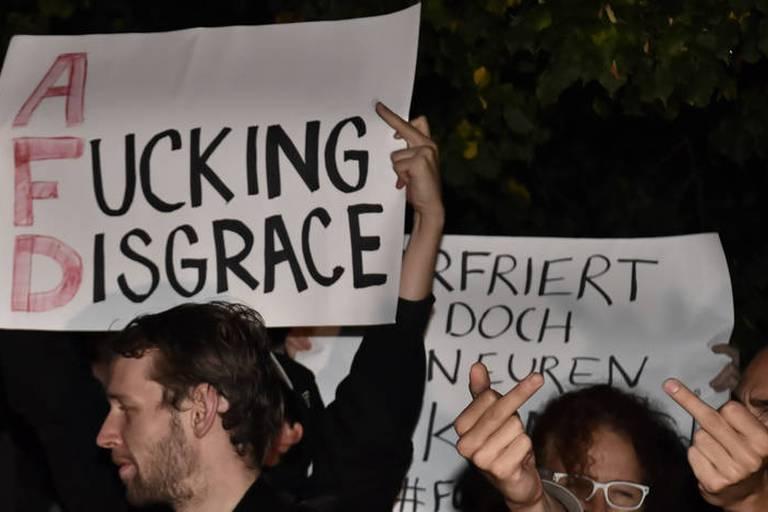 Allemagne: L'AfD gagne près d'un tiers des voix en Saxe, protestations dans plusieurs villes du pays