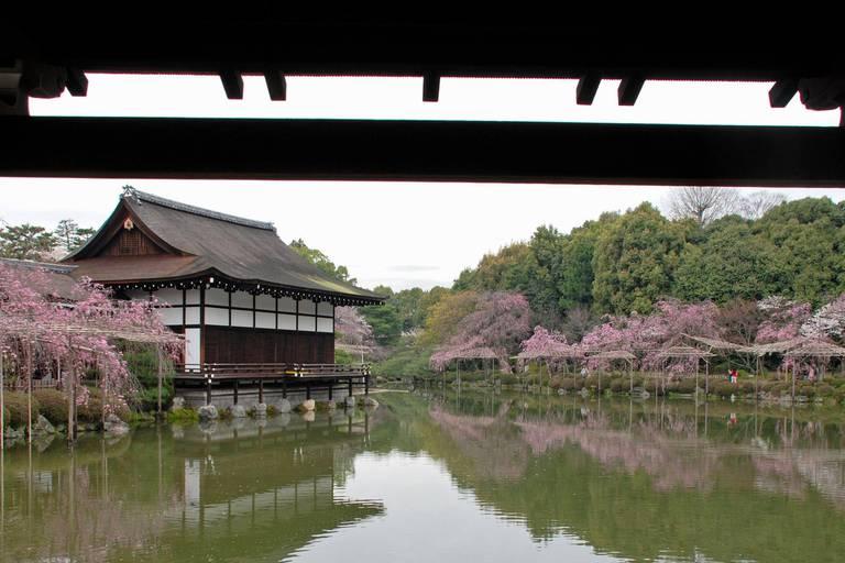 Au temple, avec les dieux nippons