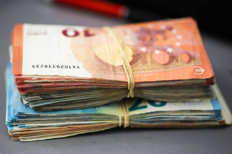 Près de 200 millions d'euros d'argent non déclaré au premier semestre