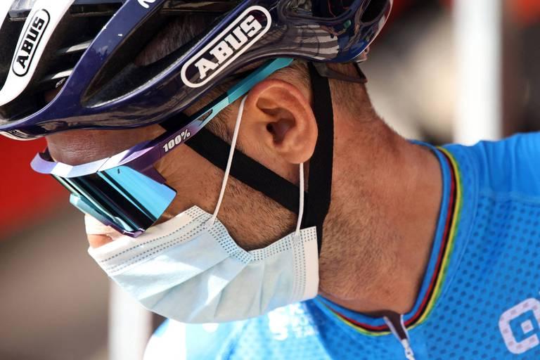 Fracture de la clavicule pour Alejandro Valverde