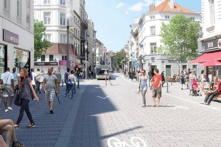 Stib : Le projet de tram 71 est mort, la chaussée d'Ixelles sans voiture d'ici 2018