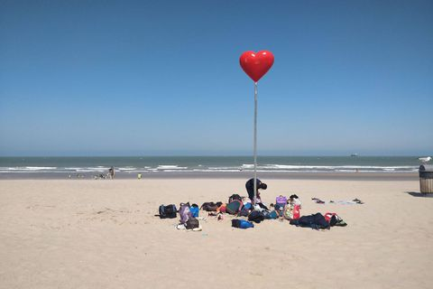 Le système d'inscription pour les plages les plus fréquentées d'Ostende actif jusqu'au 14 août