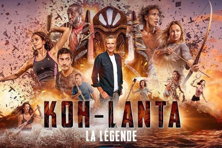 """Audiences : """"Koh-Lanta la légende"""" à la peine en Belgique"""