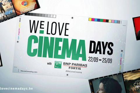 Concours We Love Cinema Days: gagnez vos places de ciné