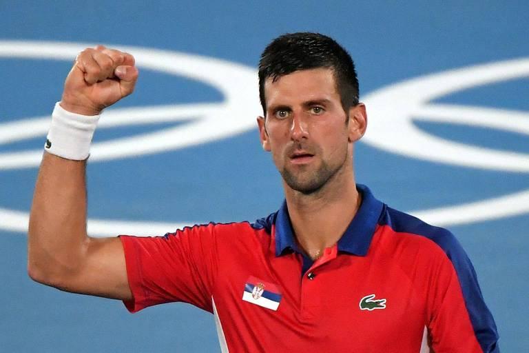 Novak Djokovic ne fait qu'une bouchée de Kei Nishikori, Bencic première finaliste du tableau féminin