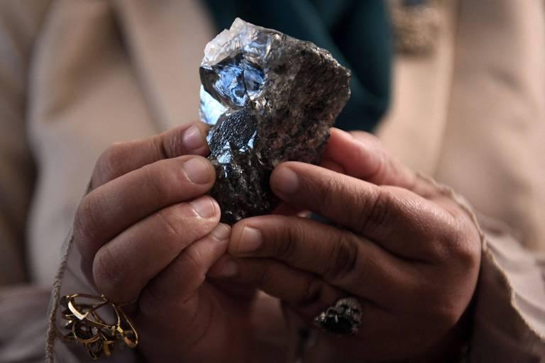 La valeur de la pierre ? 1 174 carats.