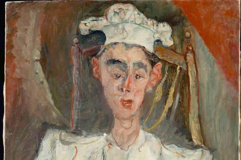 Chaïm Soutine Le Petit Patissier1922-1923, 92 x 65 cm