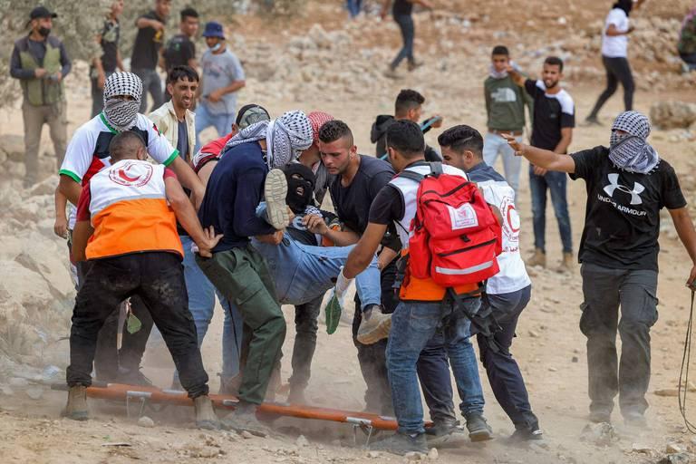 Conflit israélo-palestinien : heurts avec des soldats israéliens, près de 150 blessés palestiniens
