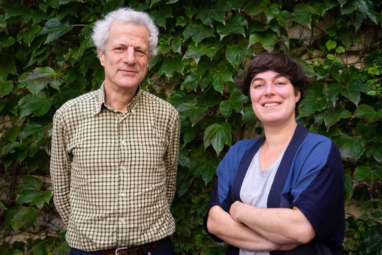Vincent De Brouwer et Céline Bouton, le duo de Lita.co en Belgique.