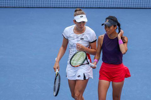 US Open: Elise Mertens éliminée en quarts de finale en double