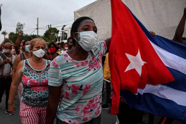 Cuba: un mort lors des manifestations anti-gouvernementales