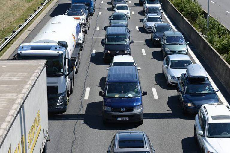 Province de Namur : la voiture est presque exclusivement utilisée pour aller au travail