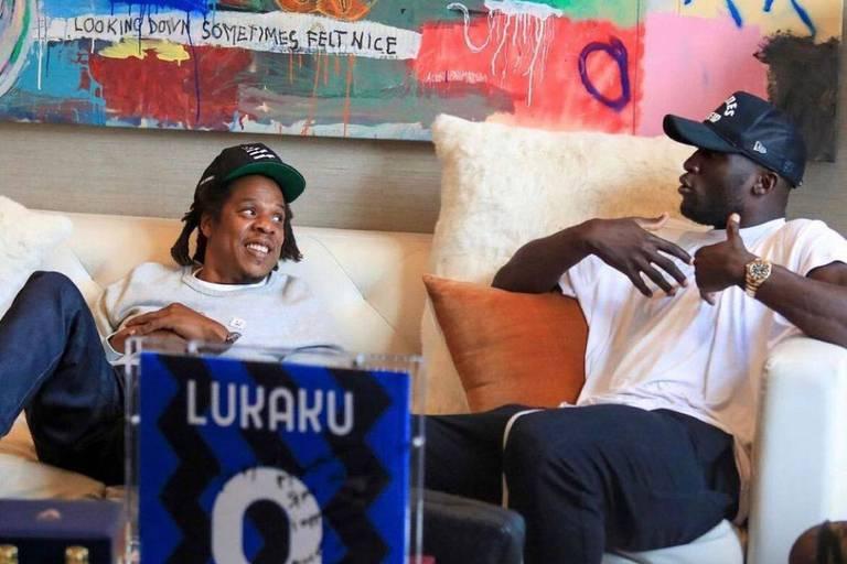 Que font donc Romelu Lukaku et Jay-Z ensemble?