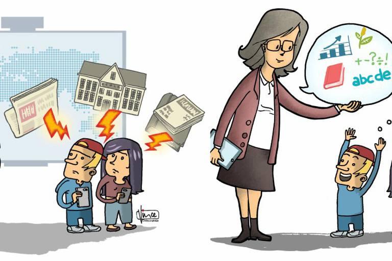 Que restera-t-il de l'école en 2050? Le numérique aura-t-il déclassé les enseignants?