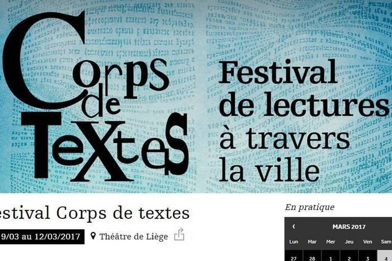 A Liège, la littérature s'écoute