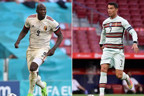 Le match Lukaku-Ronaldo a débuté dès l'arrivée à l'aéroport
