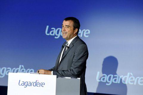 Derrière Vivendi, le principal actionnaire est l'héritier du groupe, Arnaud Lagardère.