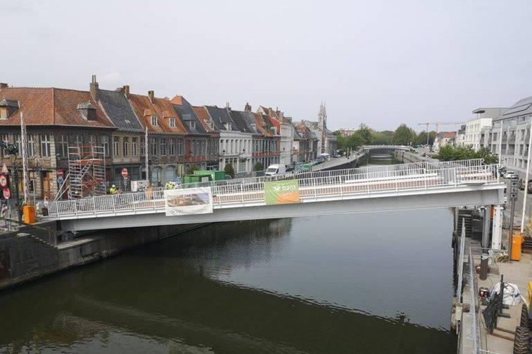 Le pont Notre-Dame s'est affaissé sur la rive gauche à Tournai: la réouverture retardée