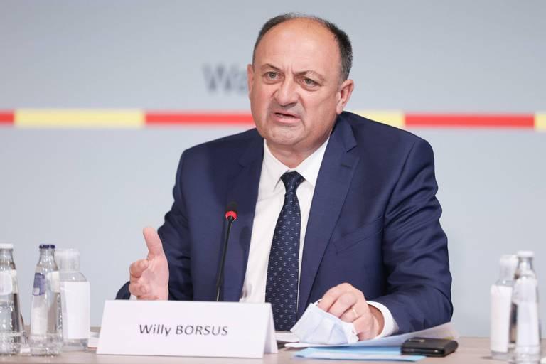 Le ministre de l'Economie Willy Borsus.