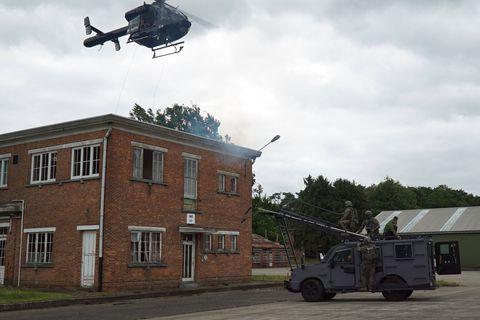 La police fédérale se dote d'un terrain d'entraînement géant à Westakkers