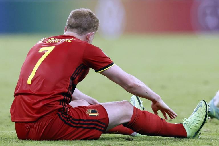 Kevin De Bruyne toujours pas débarrassé de ses blessures: il pourrait manquer le match d'ouverture contre Tottenham