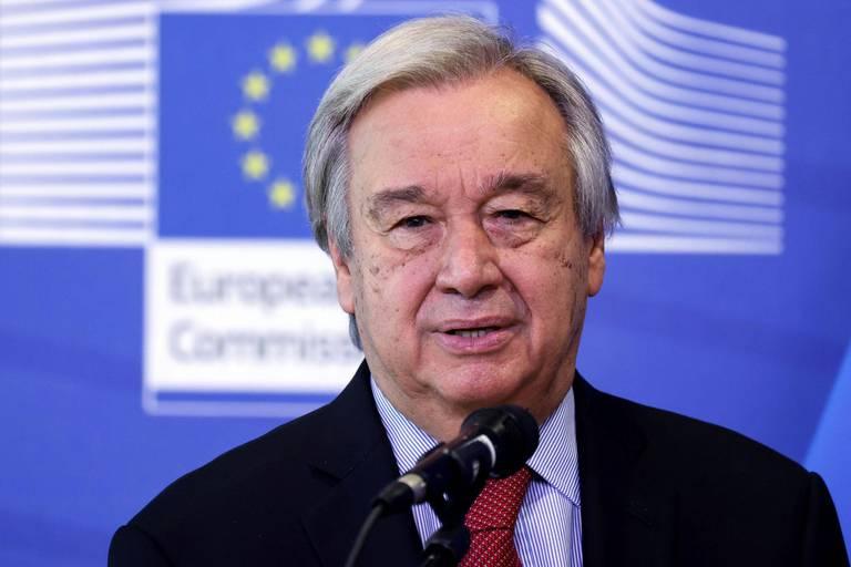 L'ONU, par la voie de son secrétaire général Antonio Guterres, fait pression sur la Russie.
