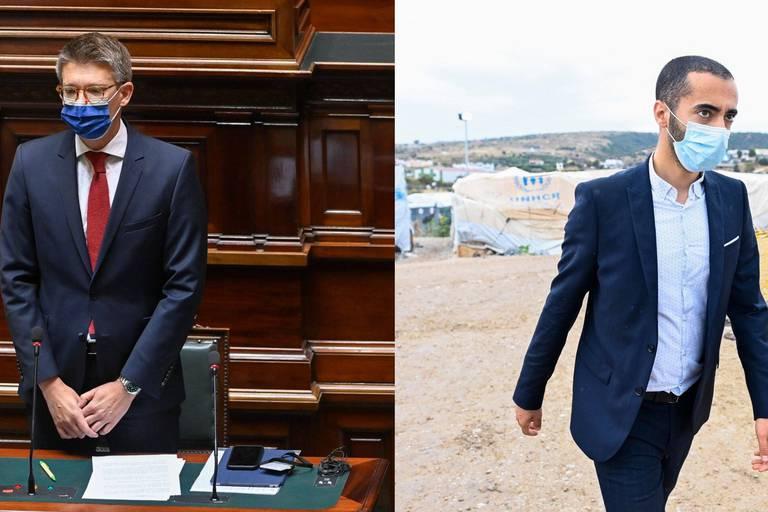 """Pierre-Yves Dermagne sur la grève de la faim des migrants: """"Nous exigeons que Samy Mahdi se saisisse de cette question"""""""