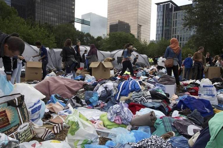 Les réfugiés en Belgique