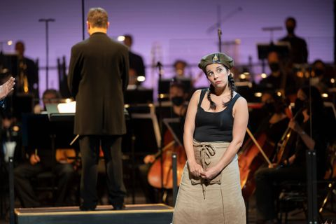 Opéra: Jodie du régiment