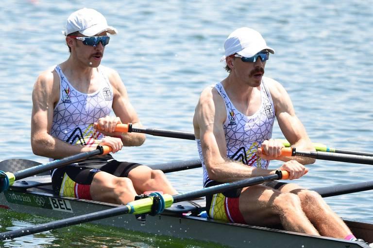 Aviron: Tim Brys et Niels Van Zandweghe se qualifient pour les demi-finales en deux de couple
