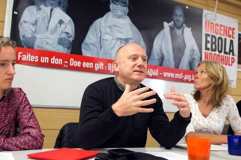 """MSF: """"Bruxelles est le cœur de la lutte contre Ebola"""""""