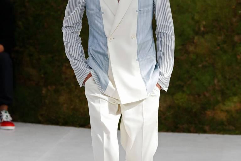 Nikolai de Danemark, prince charmant au défilé Dior