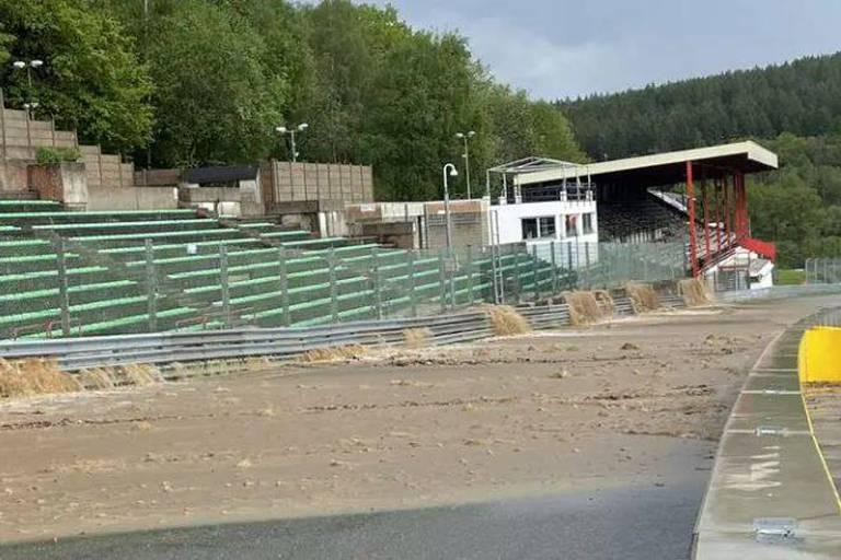 Intempéries : les activités en piste reprendront mardi à Spa-Francorchamps