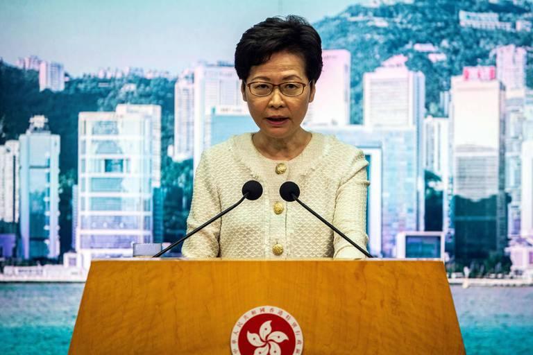 Carrie Lam, la cheffe de l'exécutif hongkongais sanctionnée par Trump