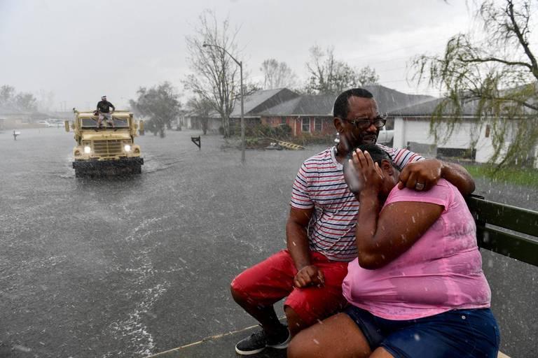 Ida a atteint les cotes de la Louisiane en tant que tempête de catégorie 4.